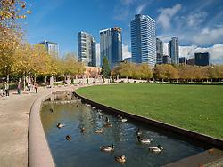 United States, Washington, Bellevue, Bellevue Downtown Park