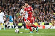 James Rodriguez (Bayern Munich ) during the UEFA Champions League, semi final, 2nd leg football match between Real Madrid and Bayern Munich on May 1, 2018 at Santiago Bernabeu stadium in Madrid, Spain - Photo Laurent Lairys / ProSportsImages / DPPI