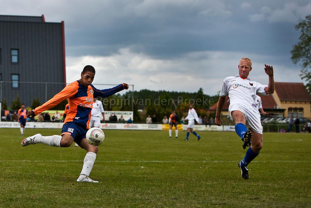 PKC '83 - Oranje Nassau. vlnr: Danilo Gutierrez, Jasper van Buiten foto: Pepijn van den Broeke. kilometers: 13