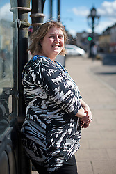 © London News Pictures. FILE PIC DATED 18/04/2013. UKIP Councillor LISA DUFFY pictured  in the town centre of Ramsey in Cambridgeshire. Lisa Duffy is to run for leadership of UKIP.. Photo credit: Ben Cawthra/LNP