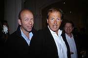 Eric Fellner, ? and Danny Moynihan. Photo london private view. Royal academy. 18 May 2005. ONE TIME USE ONLY - DO NOT ARCHIVE  © Copyright Photograph by Dafydd Jones 66 Stockwell Park Rd. London SW9 0DA Tel 020 7733 0108 www.dafjones.com