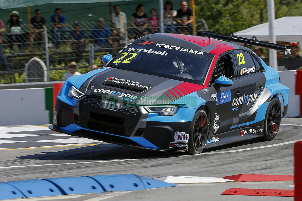 June 23, 2018 - Vila Real, Vila Real, Portugal - Frederic Vervisch during the Race 1 of FIA WTCR 2018 World Touring Car Cup Race of Portugal, Vila Real, June 23, 2018. (Credit Image: © Dpi/NurPhoto via ZUMA Press)