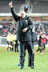 Wigan Athletic Manager, Uwe Rosler - Photo mandatory by-line: Nigel Pitts-Drake/JMP - Tel: Mobile: 07966 386802 14/01/2014 - SPORT - FOOTBALL - Stadium MK - Milton Keynes - MK Dons v Wigan Athletic - FA Cup - Third Round replay