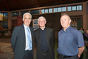 Fintan Maher Trocaire,(Head of Community Engagement and Outreach) Bishop Drennan and  Fr Tom Brady in St Oliver Plunkett's parish Renmore for the Diocese of Galaway /Trocaire Mass celebrating 40 years of Trocaire's work . Photo:Andrew Downes photography.