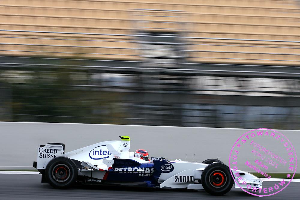 28.11.2006 Barcelona, Spain, ..Robert Kubica (POL),  BMW Sauber F1 Team  - Formula One Testing, Circuit de Catalunya ..FOT. XPB.CC / WROFOTO..*** POLAND ONLY !!! ***