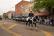Miles City Bucking Horse Sale Parade, Montana, Black Horse Brigade