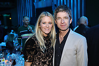 Edith Bowman and Noel Gallagher pose together in the main auditorium