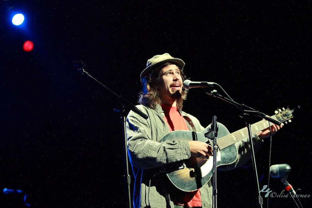 Jason Webley performs at the Moore Theatre, November 11th, 2011