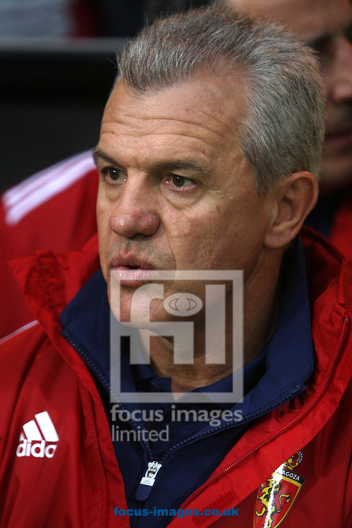 Real Zaragoza Manager Javier Aguirre during a pre season friendly at Carrow Road stadium, Norwich...Picture by Paul Chesterton/Focus Images Ltd.  07904 640267.3/8/11