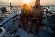 Atlantic Cup 2014 Leg One from Charleston, SC to New York, New York onboard Dragon Ocean Racing with Mike Hennessy & Rob Windsor
