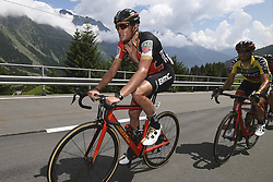 June 15, 2017 - Locarno / La Punt, Suisse - VAN AVERMAET Greg (BEL) Rider of BMC Racing Team, CARUSO Damiano (ITA) Rider of BMC Racing Team during stage 6 of the Tour de Suisse cycling race, a stage of 166 kms between Locarno and La Punt on June 15, 2017 in La Punt, Switserland, 15/06/2017 (Credit Image: © Panoramic via ZUMA Press)