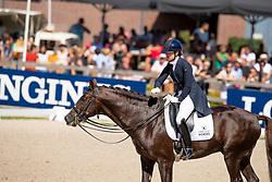 Loos Franka, NED, Giovanni<br /> World ChampionshipsYoung Dressage Horses<br /> Ermelo 2018<br /> © Hippo Foto - Dirk Caremans