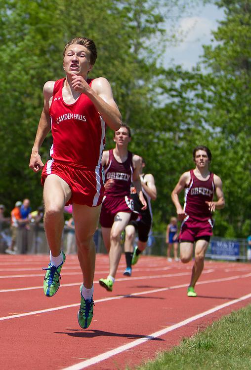 Trapani, boys 1600 meters, Maine State Track & FIeld Meet - Class B