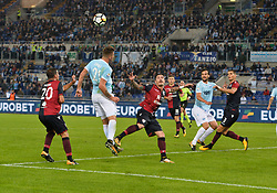 October 22, 2017 - Rome, Italy - Sergej Milinkovic-Savic, during the Italian Serie A football match between S.S. Lazio and Cagliari at the Olympic Stadium in Rome, on october 22, 2017. (Credit Image: © Silvia Lore/NurPhoto via ZUMA Press)