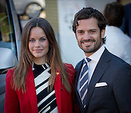 Borlange, 05-10-2015<br /> <br /> Official visit of Prince Carl Philip and Princess Sofia to Dalrna<br /> <br /> Photo: Royalportraits Europe/Bernard Ruebsamen