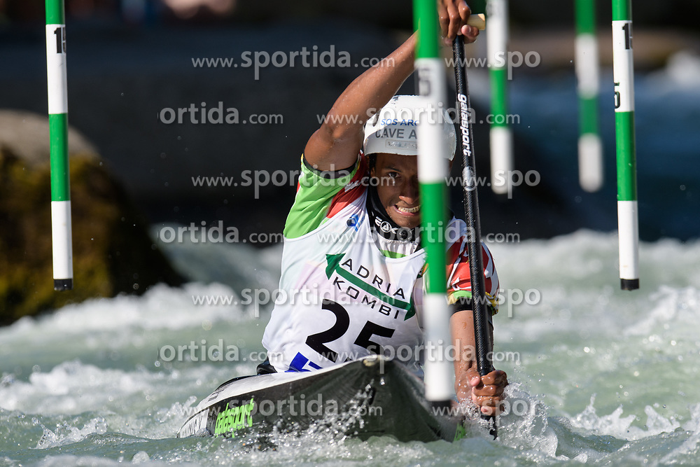 Yves BOURHIS of Senegal during the Canoe Single (C1) Men SemiFinal race of 2019 ICF Canoe Slalom World Cup 4, on June 28, 2019 in Tacen, Ljubljana, Slovenia. Photo by Sasa Pahic Szabo / Sportida