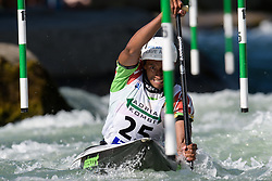 Yves BOURHIS of Senegal during the Canoe Single (C1) Men SemiFinal race of 2019 ICF Canoe Slalom World Cup 4, on June 28, 2019 in Tacen, Ljubljana, Slovenia. Photo by Sasa Pahic Szabo / Sportida