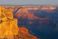 Sunrise on the Grand Canyon from Yavapai Point, Grand Canyon National Park Arizona