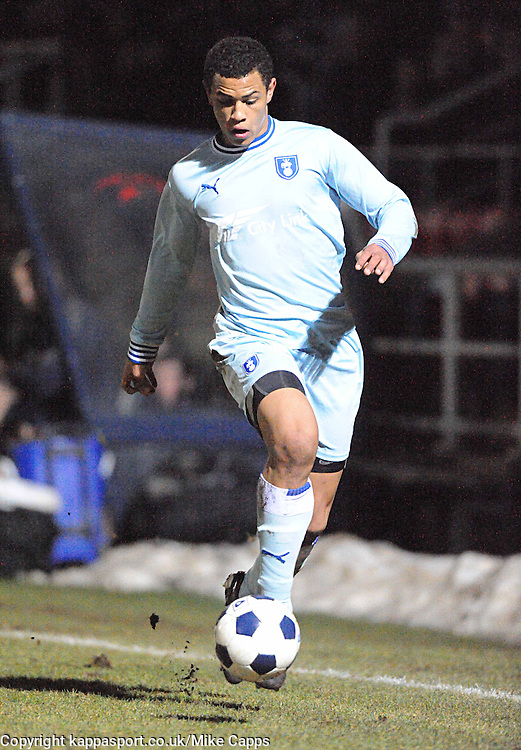 JONSON CLARKE HARRIS, COVENTRY CITY, Kettering Town v Coventry City, Trust, Nene Park  Friendly Wednesday 15th Febuary 2012