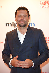 Jeremy Sisto poses as arriving for the opening ceremony of the MIPCOM in Cannes - Marche international des contenus audiovisuels du 16-19 Octobre 2017, Palais des Festivals, Cannes, France.<br />