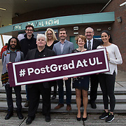 09.03.2017<br /> Pictured at the University of Limerick Post Grad Open Evening in the North Campus Pavilion were, . Picture: Alan Place