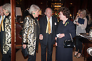PRINCESS LOEWENSTEIN; PRINCE RUPERT LOEWENSTEIN; THE DUCHESS OF RUTLAND, Book launch for ' Daughter of Empire - Life as a Mountbatten' by Lady Pamela Hicks. Ralph Lauren, 1 New Bond St. London. 12 November 2012.