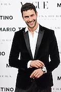 Noah Mills at Vogue December Issue Mario Testino Party