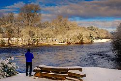 The River Ness in Inverness, Scotland in winter<br /> <br /> (c) Andrew Wilson | Edinburgh Elite media