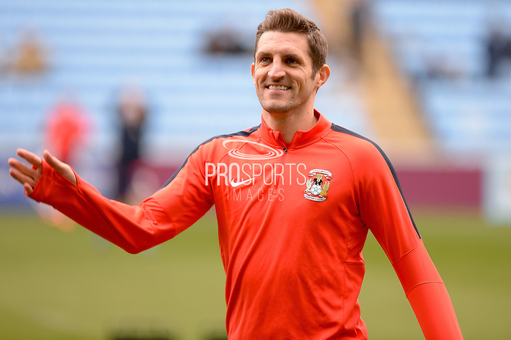 Coventry City Defender Sam Ricketts during the Sky Bet League 1 match between Coventry City and Bury at the Ricoh Arena, Coventry, England on 13 February 2016. Photo by Dennis Goodwin.