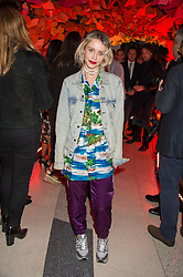 BILLIE JD PORTER at the 3rd anniversary party of Sushisamba at the Heron Tower, 110 Bishopsgate, City of London on 10th November 2015.