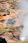 Artist Paintpots in Yellowstone National Park.