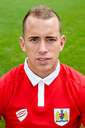 Aaron Wilbraham poses for a head shot - Photo mandatory by-line: Rogan Thomson/JMP - 07966 386802 - 04/08/2014 - SPORT - FOOTBALL - BCFC Training Ground, Failand - Bristol City, 2014/15 Team Photos.