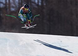 February 17, 2018 - PyeongChang, South Korea - GRETA SMALL of Australia during Alpine Skiing: Ladies Super-G at Jeongseon Alpine Centre at the 2018 Pyeongchang Winter Olympic Games. (Credit Image: © Patrice Lapointe via ZUMA Wire)