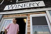 Keith Bodine, Sweetgrass Winery, Union, Maine.