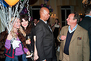 MICHAEL ROBERTS; JONATHAN BECKER, Kate Reardon and Michael Roberts host a party to celebrate the launch of Vanity Fair on Couture. The Ballroom, Moet Hennessy, 13 Grosvenor Crescent. London. 27 October 2010. -DO NOT ARCHIVE-© Copyright Photograph by Dafydd Jones. 248 Clapham Rd. London SW9 0PZ. Tel 0207 820 0771. www.dafjones.com.