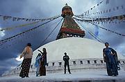 Boudinath stupa, Kathmandu,  Nepal