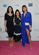 "Actress Diane Guerrero, center, and her co-stars from ""Orange is the New Black,"" Karina Ortiz, left, and Jackie Cruz, attend P&G's Orgullosa #LivingFabulosa event, Tuesday, Feb. 23, 2016, in New York. The event brings together influential Latina trendsetters to highlight the need to have more Latina role models to inspire the next generation.  (Photo by Diane Bondareff/Invision for P&G Orgullosa/AP Images)"
