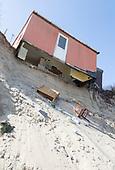 Hemsby, Norfolk, coastal erosion