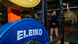 15-03-2017 NED:  Training jeugd Oranje, Arnhem<br /> Jeugd Oranje klaar voor het EK in eigen land maar eerst nog een pittige training / Lisa Nobel #11 of Netherlands