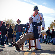 Washington, Oct. 30, 2010 - Rally to Restore Sanity and/or Fear -Nelson Marr, Washington, DC (Nixon) and Greg Long, Arlington, VA