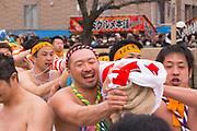 Scenes at the Konomiya Naked Man Festival (or Konomiya Hadaka Matsuri)