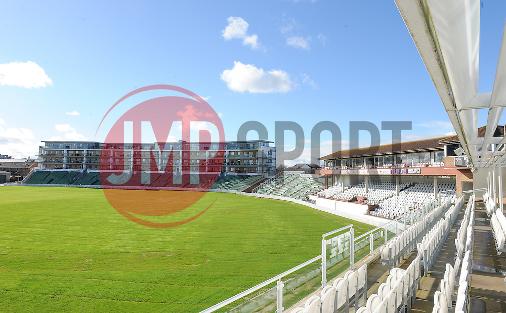 General view of the Cooper Associates County Ground.  - Mandatory byline: Alex Davidson/JMP - 11/02/2016 - CRICKET - The Cooper Associates County Ground -Taunton,England - Somerset CCC  Media access - Pre-Season