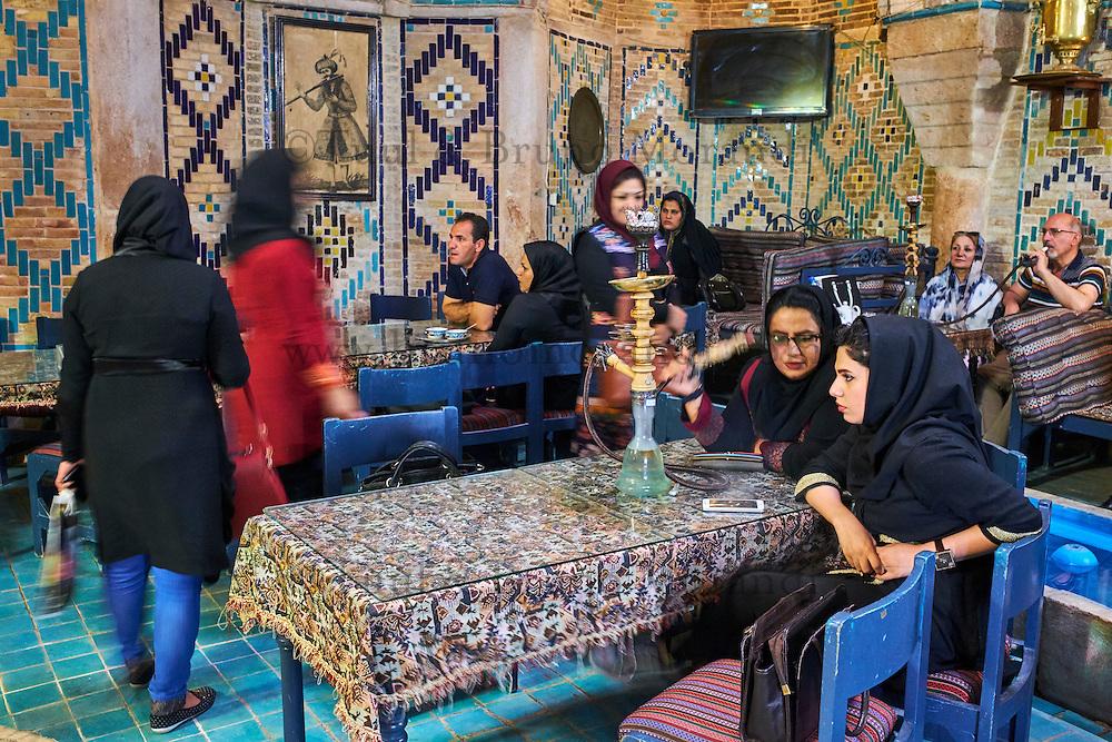 Iran, province de Kerman, Kerman, Maison de thé du hammam Vakil // Iran, Kerman province, Kerman, Vakil hammam teahouse