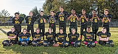 2017 Gibsonville Yellow Jackets Youth Football Team Pictures