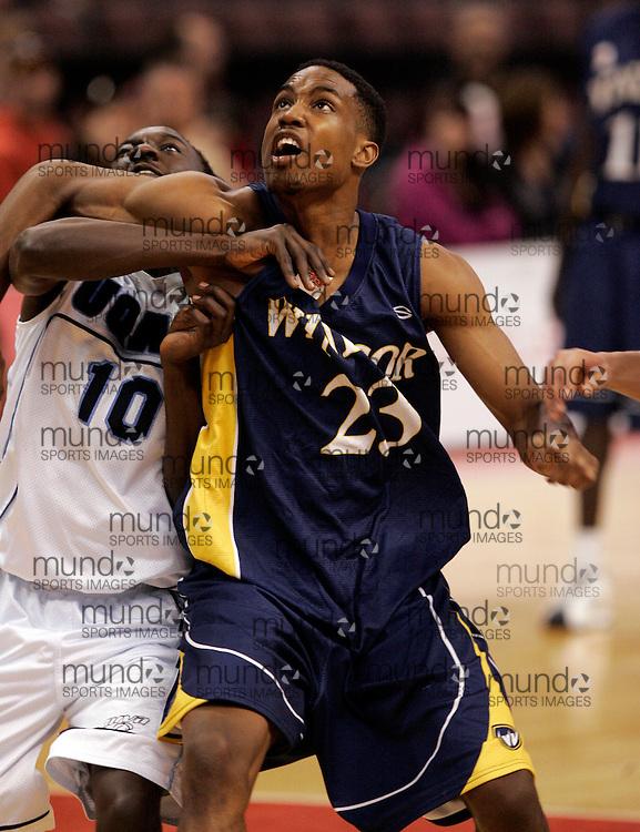 CIS Basketball Champioships-Ottawa, March 20, 2010, Windsor Lancers-Justin Wiltshire