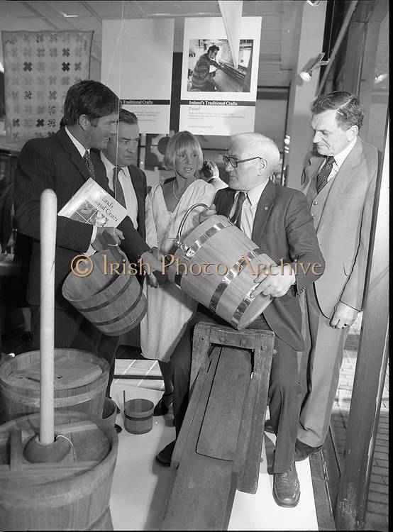Ireland Traditional Crafts Exhibition at Kilkenny Design Workshop, Nassau Street,<br />