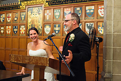Todd Van Allen + Agata Vani's Wedding at Hart House, at the University of Toronto.