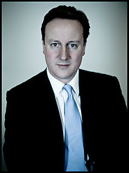 Portraits of the Leader of the Conservative Party David Cameron in his office in Norman Shaw South, Wednesday March 31, 2010. Photo By Andrew Parsons/i-Images