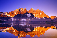 The Ramparts, Tonquin Valley, Jasper National Park, Alberta, Canada