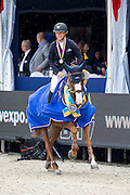 Angelica Augustsson - Ard Ginger Pop<br /> FEI World Breeding Jumping Championships for Young Horses 2014<br /> © DigiShots